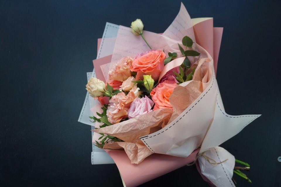 Розы, необычные букеты заказать челябинск