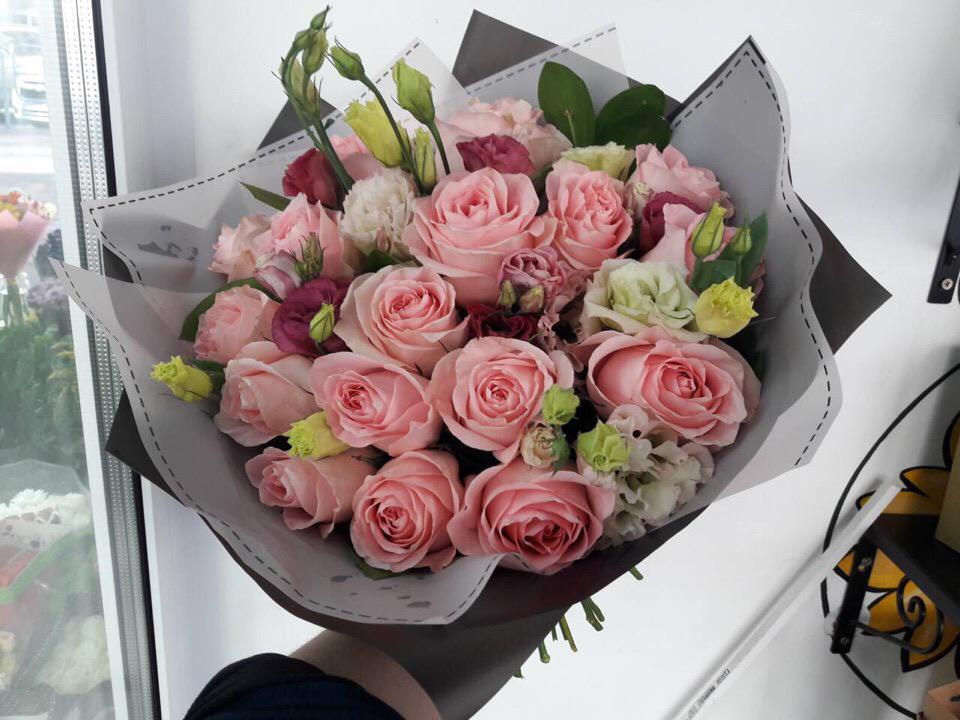 Доставить букет в другой город, оптовый магазин цветов